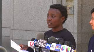 Statue of Liberty Climber Speaks to Public and Pleads Not Guilty