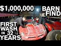 Million Dollar Barn Find First Wash in 32 Years