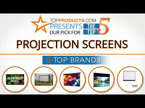 Best Projection Screen Reviews 2017 – How to Choose the Best Projection Screen