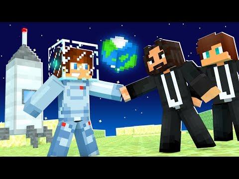 ENCONTRAMOS PESSOAS NA LUA !! - Minecraft Cidade #31(FIM)