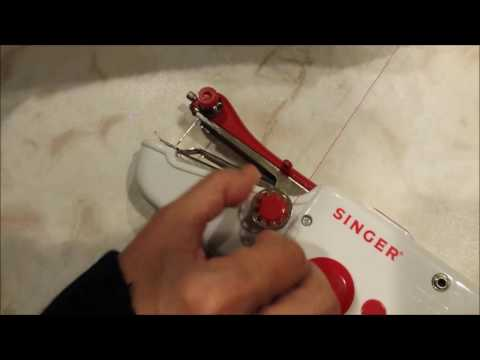 Singer Stitch Sew Quick Hand Held Sewing Machine - Tutorial and Review - B to B+
