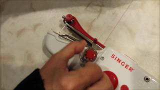 Singer Stitch Sew Quick Hand Held Sewing Machine - Tutorial and Review