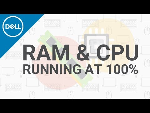 Fix High 100% RAM CPU Usage (Official Dell Tech Support)