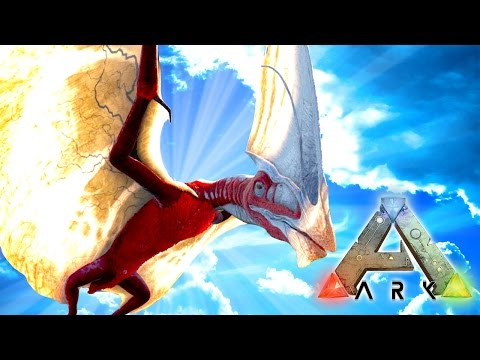 Ark: Survival The Center  - NEW RARE PTERADON!