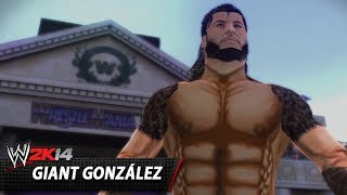 WWE 2K14 Community Showcase: Giant González (PlayStation 3)