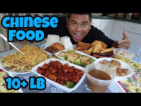 Massive 10+ lb Chinese Food Challenge