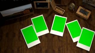 Photo Slide Intro Template Green Screen Template. [1080P] Free Video Background.