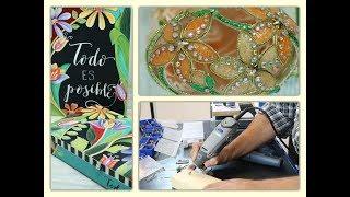 ManosalaObraTv 2018 Programa 23  - Pintura Decorativa - Arte Realeggza - Herramientas Dremel