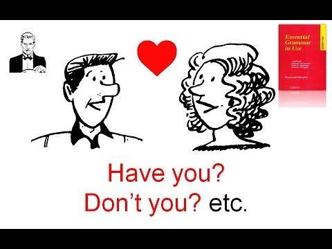 """""""Эхо"""" и разделительный вопросы. Have You?/Are You?/Don't You? Etc."""
