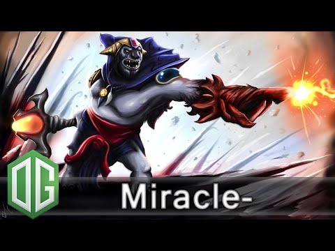 OG.Miracle- Lion Gameplay and Moon, Cr1t- - Unranked Match - OG Dota 2