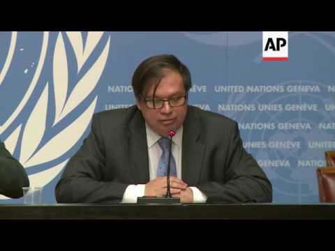 UN briefs on Syria aid efforts