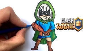 DRAW BANDIT !! CLASH ROYALE