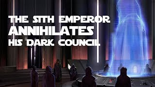 The First Purge of the Dark Council (Star Wars: Legends)