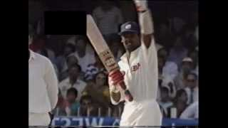 right handed Vinod Kambli hammers Shane Warne