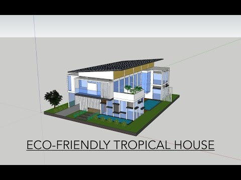 ECO-FRIENDLY TROPICAL HOUSE | IB Personal Project