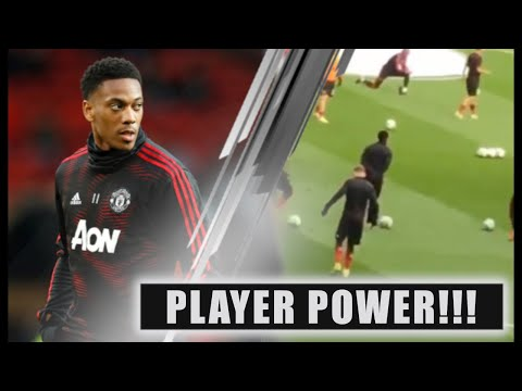 "MAJOR BUST UP! Solskjær & Anthony Martial clash over ""Blatant lack of effort""!"