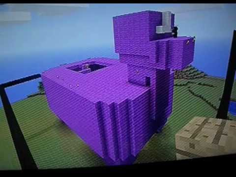Minecraft XBOX 360 Building The Purple Llama YouTube