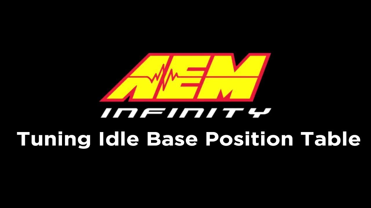 Tuning Your Idle Base Position Table (Infinity Tutorials Part 1 of 3)