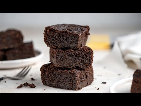 Keto Avocado Brownies Recipe [No Low-carb Flours Needed]