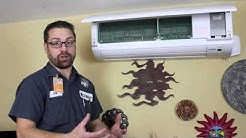 How to use your Mitsubishi Ductless wall unit   Kettle Moraine Heating & Air Conditioning