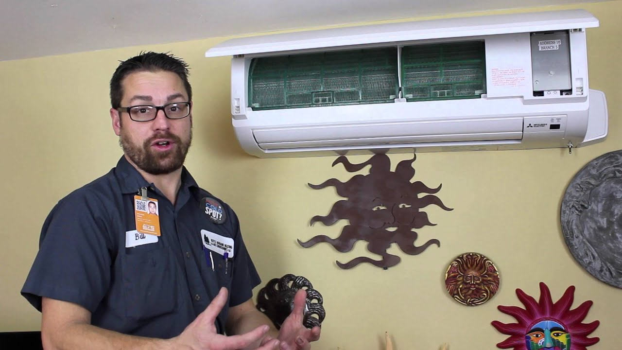 How to use your Mitsubishi Ductless wall unit Kettle Moraine Heating ...