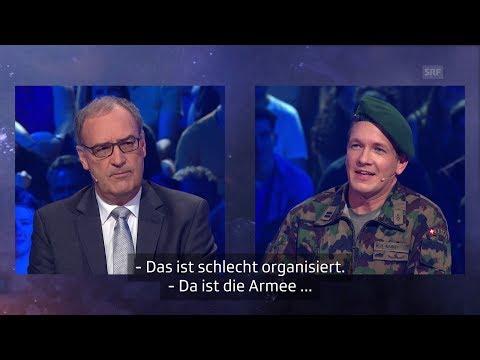 «26 minutes»: Spezialsendung mit Bundesrat Guy Parmelin
