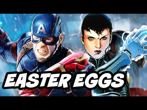 Agents Of SHIELD Season 3 Episode 21 - 22 Finale Marvel Easter Eggs