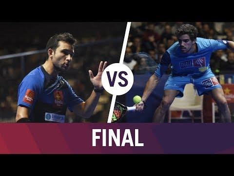 Resumen Final Masculina Sanyo/Maxi VS Lebrón/Belluati   Estrella Damm Catalunya Master 2018
