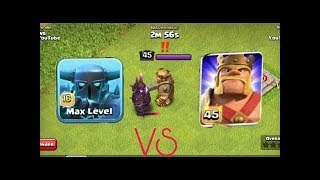 Max SUPER PEKKA vs Max KING | Who is the strongest? | Clash of Clans | Thang COC