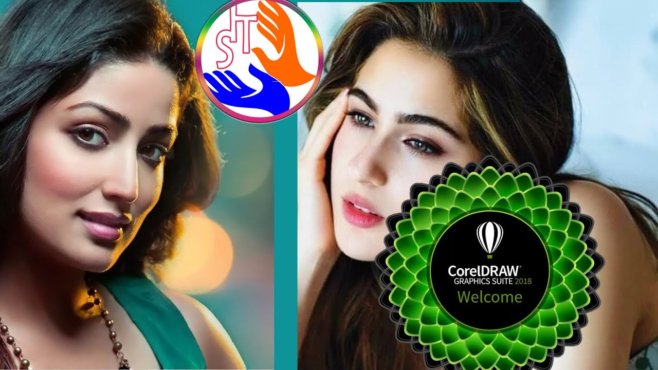 How To Use Artistic Media Tool In Coreldraw X7 Youtube