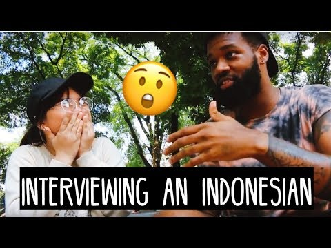 HOW DO INDONESIANS FEEL ABOUT BLACK PEOPLE & MORE: AN INTERVIEW | S.02 EP. 48