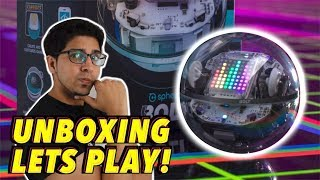 UNBOXING & LETS PLAY - BOLT - by Sphero - FULL REVIEW! Robotic Ball!