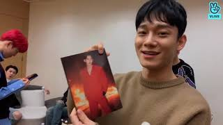 191127 Eng Sub EXO V Live Unboxing Obsession Album & Chanyeol's Birthday