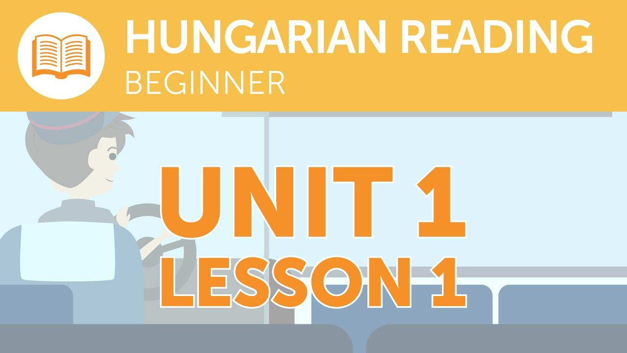 Hungarian Reading for Beginners - What Does that Hungarian Signal Say?