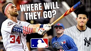 The TOP MLB Free Agents Going into 2019! Where Will They Go? MLB Rumors & Free Agency