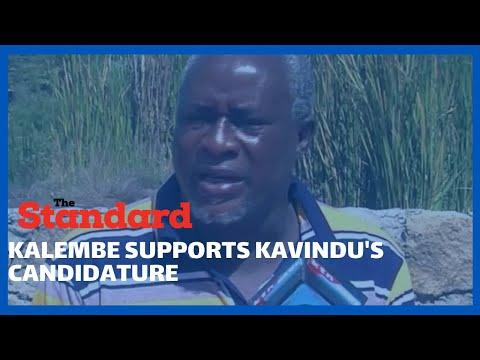 Former Kibwezi West Mp Kalembe Ndile has come out to defend Agnes Kavindu candidature