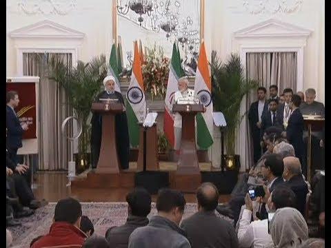 Iran's Hassan Rouhani, PM Modi Sign 9 Agreements | Iranian President's India Visit | NYOOOZ TV