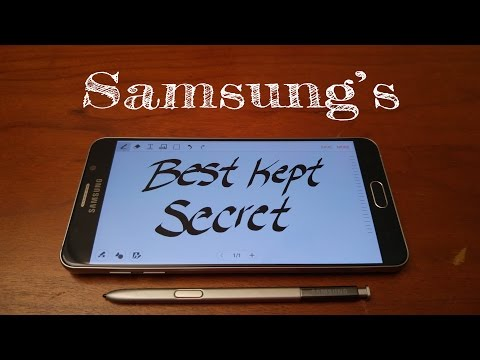 Samsung's best kept secret on the Galaxy Note 5 (S Note In Depth Review)