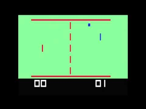 Tennis - (1976) - Channel F - gameplay HD