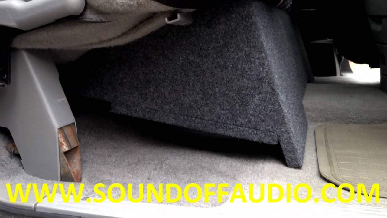 1988 To 1998 Chevrolet Extended Cab Dual Box By Sound Off