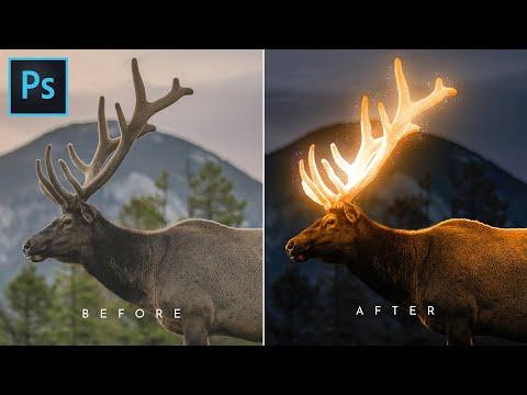 Glow Effect - Photoshop Tutorial | Glowing Effect