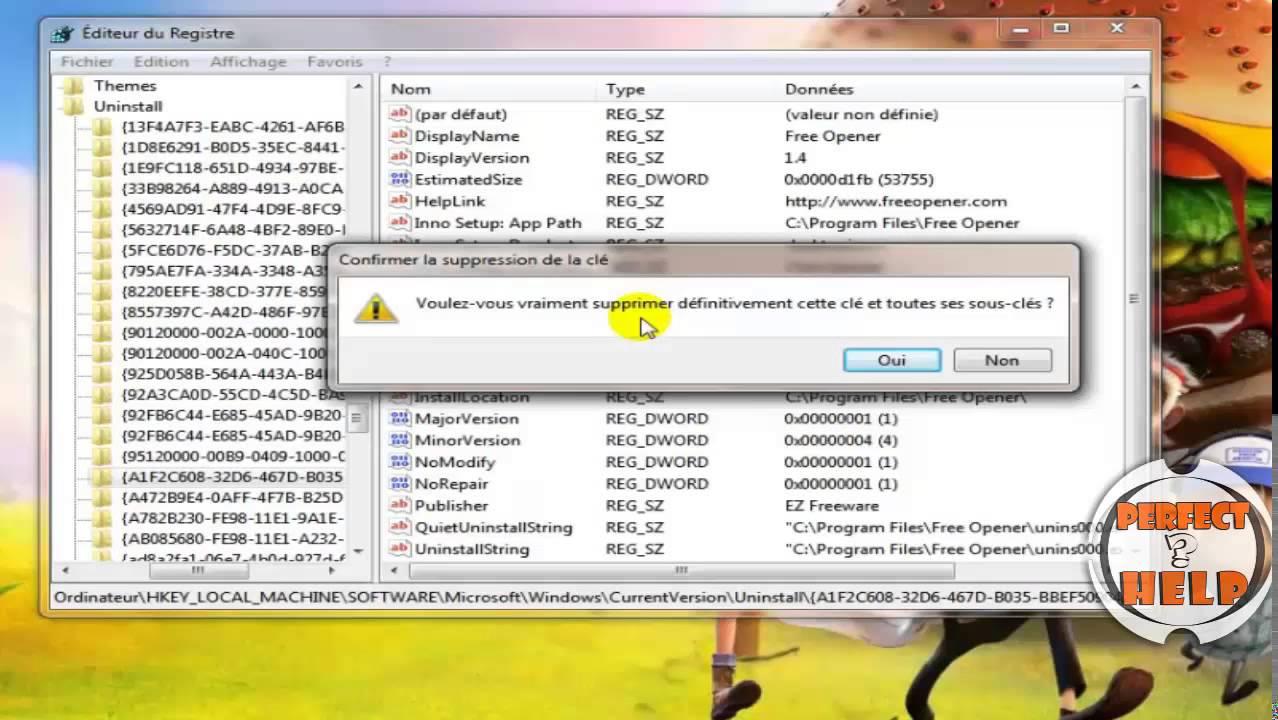 برنامج حذف البرامج من جذورها ويندوز 7