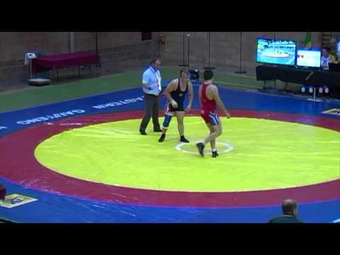 2013 Commonwealth Championships: 84 kg Armando Hietbrink (RSA) vs. Kurt Herzog (RSA)