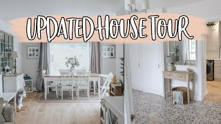 HOUSE TOUR! ONE YEAR HOUSDE UPDATE AND NEXT RENOVATION PLANS FOR DOWNSTAIRS | KATE MURNANE