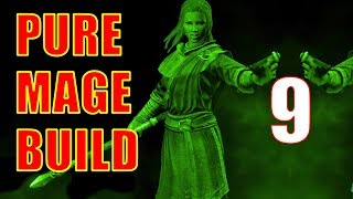 Skyrim Pure Mage Walkthrough NO WEAPONS NO ARMOR Part 9 - Business at the College
