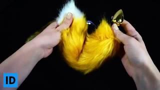 Анальная пробка, хвост лисы