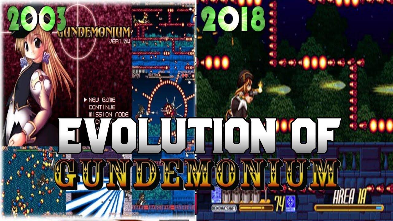 Graphical Evolution of Gundemonium (2003-2018)