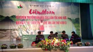 Múa Mông-Bộ Đội Biên Phòng Quế Phong