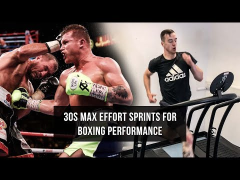 30 Second Max Effort Sprints for Boxing Performance!