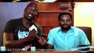 FACTORY78  - Cobhams Asuquo interview in London for AaronTAaron & Friends Music Concert.